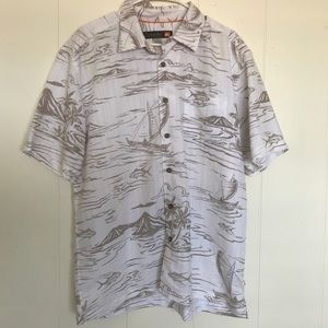 QUIKSILVER aloha shirt
